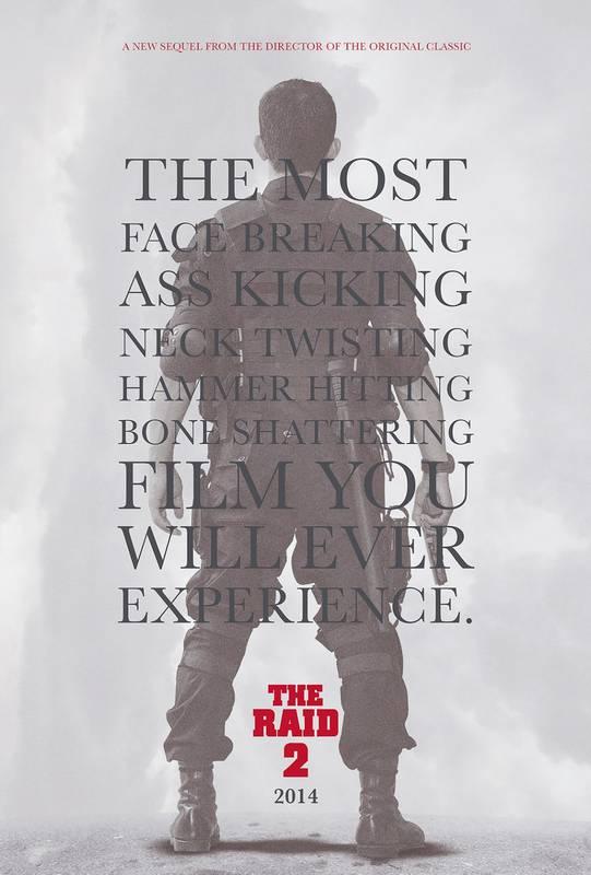 The Raid 2 Berandal 2014 poster